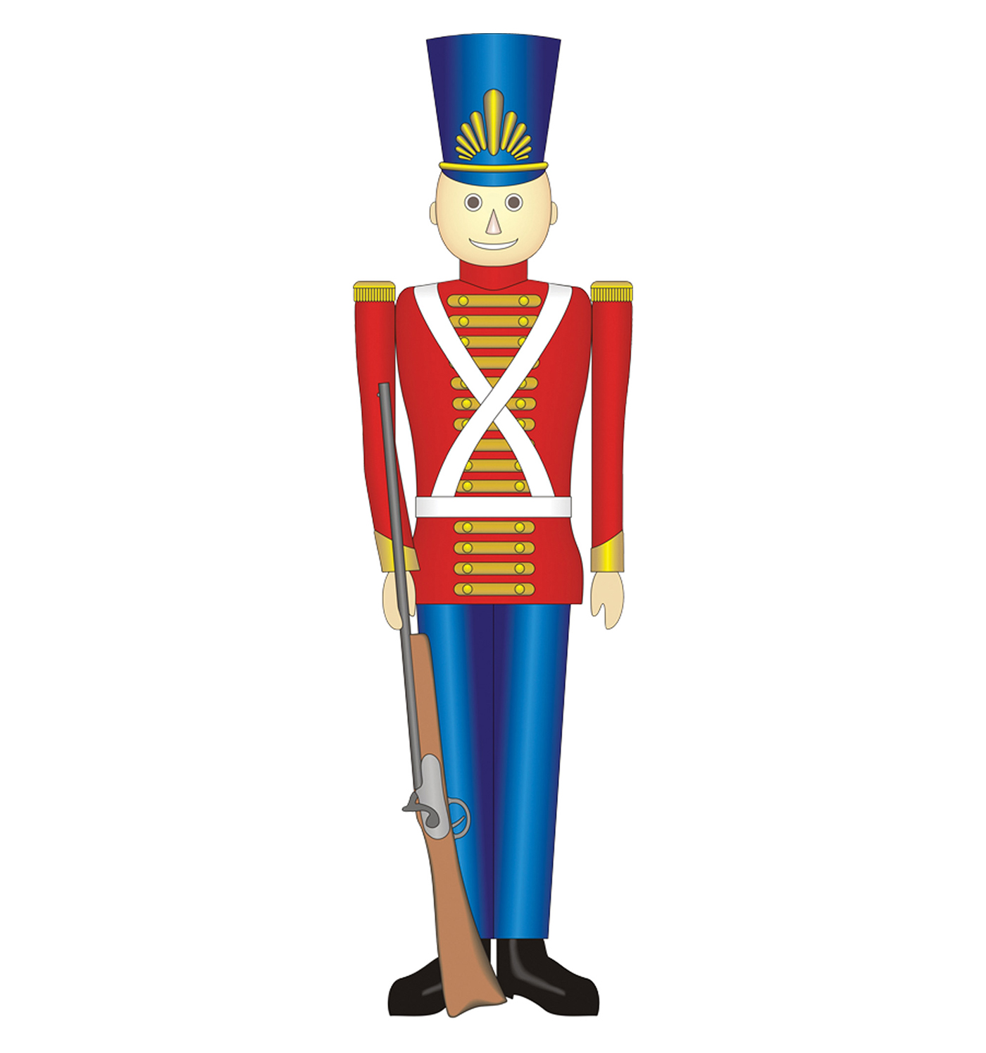 1400x1494 Toy Soldier Clipart