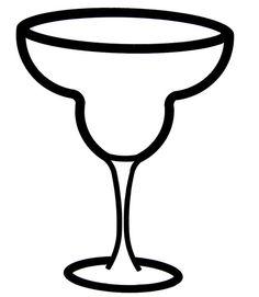 236x271 Margarita Glass Stencil
