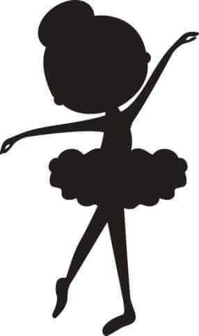 286x482 Bailarina 3 Plastyka Ballerina, Craft