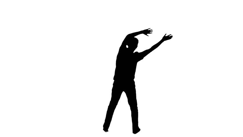 852x480 African American Mariachi Boy Illustration Silhouette Illustration