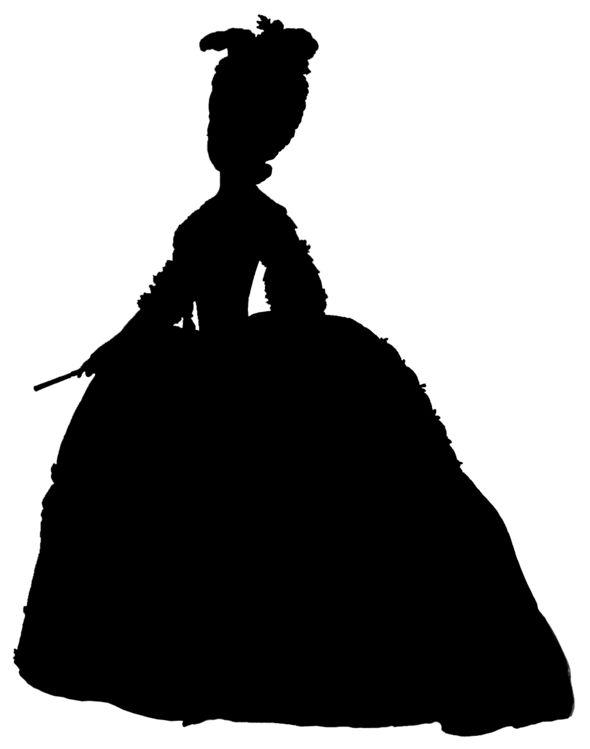 Marie Antoinette Silhouette