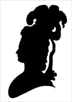 145x205 L'Art Du Portrait En Silhouette