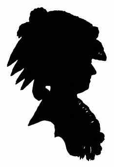 234x340 Silhouette Of Marie Antoinette C1780. (Getty Images). Alias Mrs