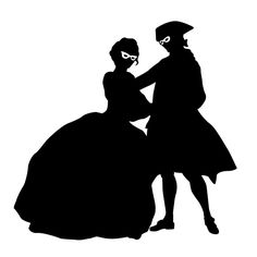 236x236 Fab Silhouettes Of 18th Century Fashions In The Time Of Marie