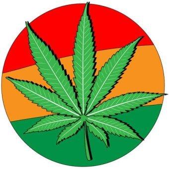 Marijuana Leaf Silhouette