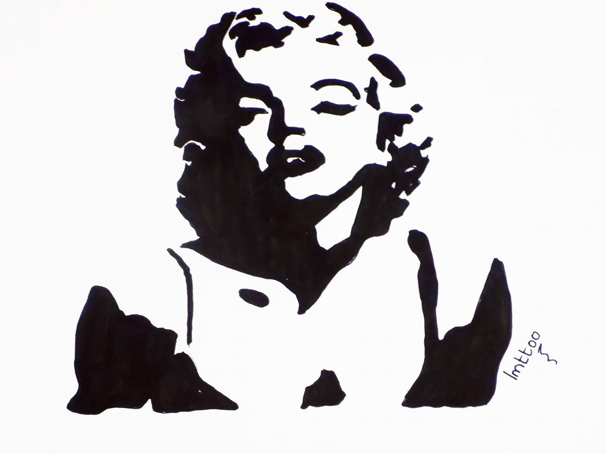 Marilyn Monroe Silhouette