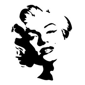 Marilyn Monroe Silhouette At Getdrawings Free Download