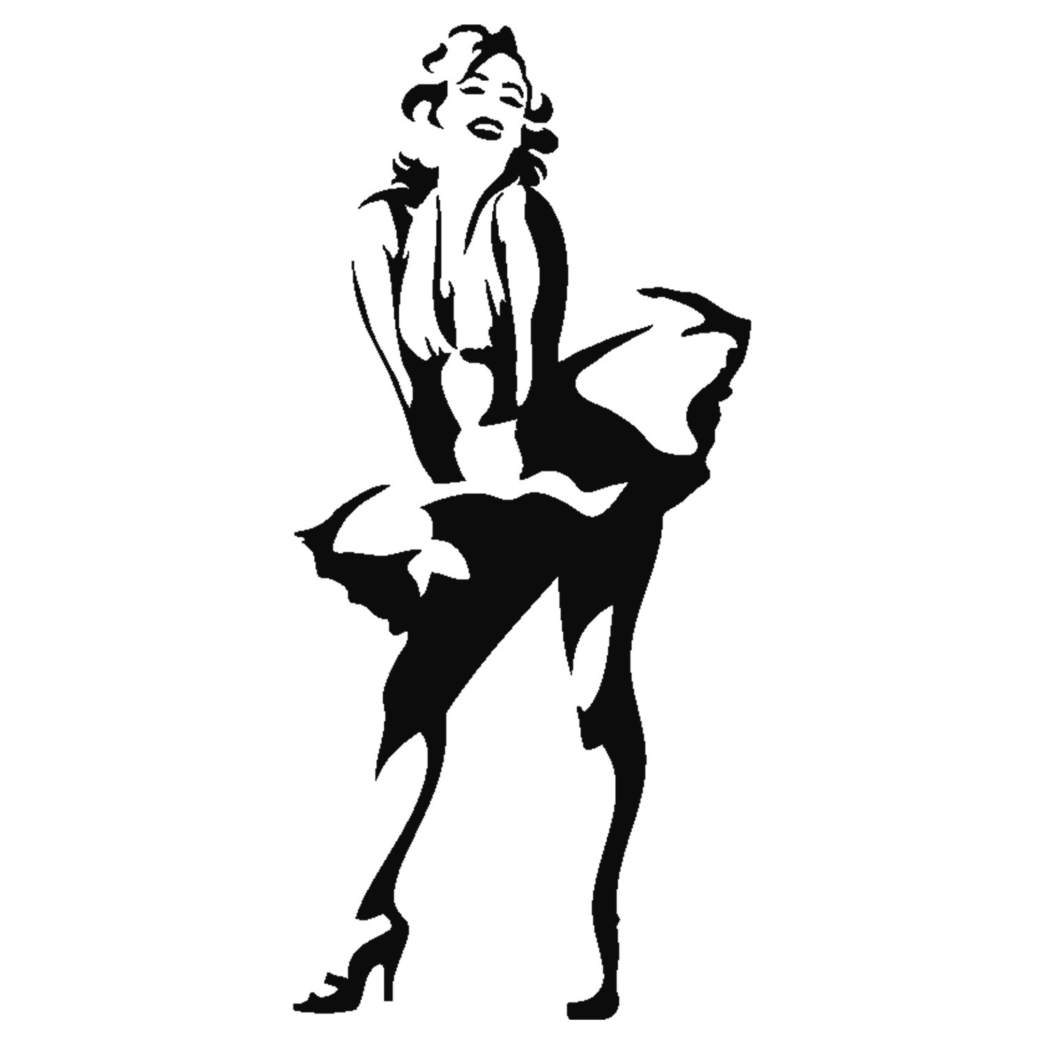 marilyn monroe silhouette at getdrawings com free for personal use rh getdrawings com marilyn monroe clip art free marilyn monroe black and white clipart