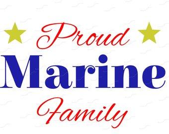 340x270 Marine Family Svg Etsy