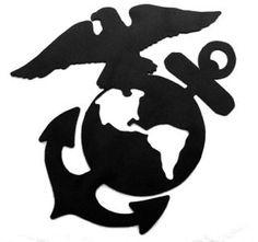 236x221 Usmc Marine Corps Eagle Globe Anchor Ega Vinyl Decal Sticker