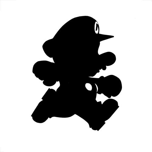 Mario Silhouette
