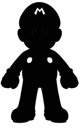 278x445 Mario Silhouette By Ba Ru Ga On Boy Oh Boy