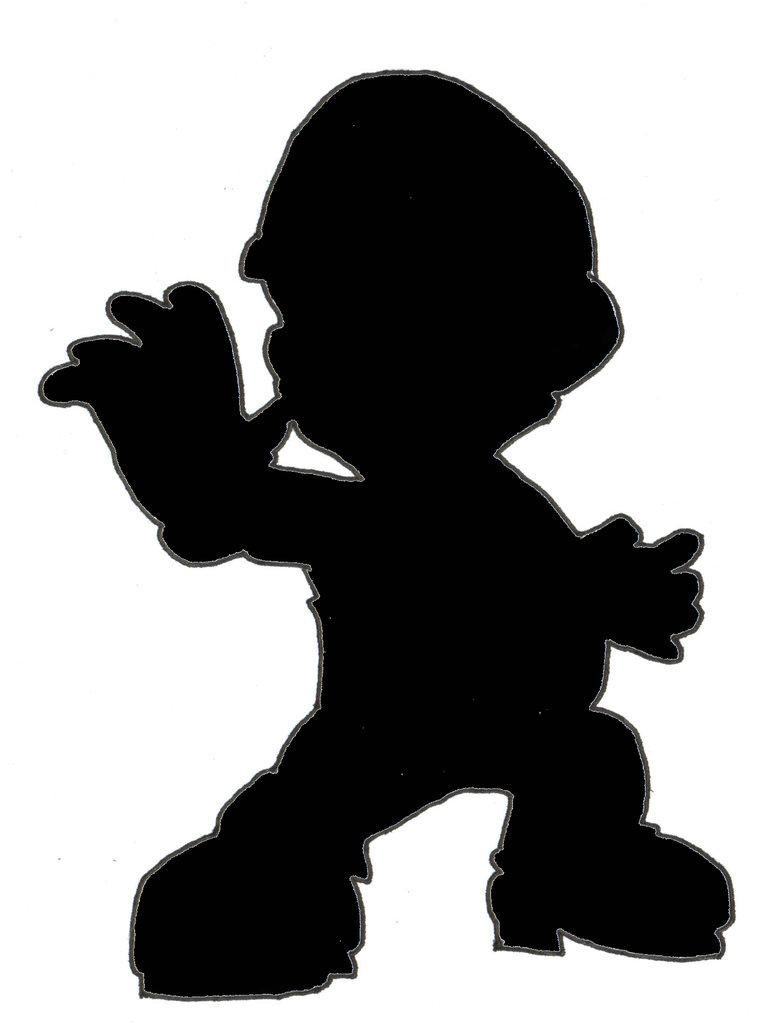 773x1033 Ssbb Silhouette Mario By Chaosky87