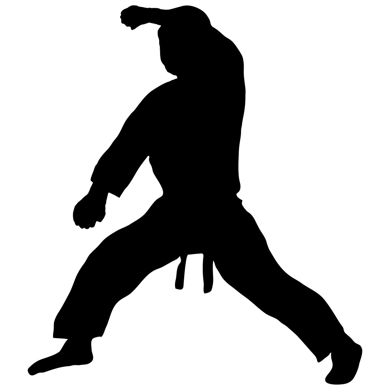 1296x1296 Martial Arts Wall Decal Sticker 18