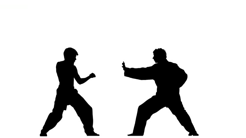 852x480 Sparrynh Taekwondo, Martial Arts On A White Background, Black