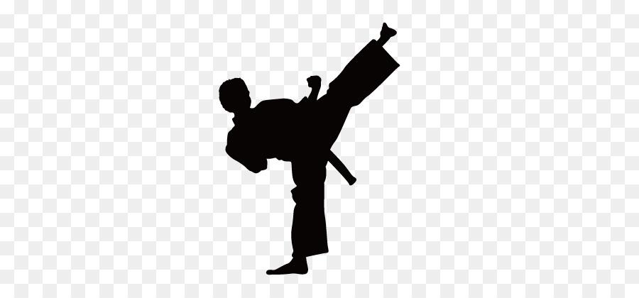 900x420 Karate Wall Decal Kick Martial Arts