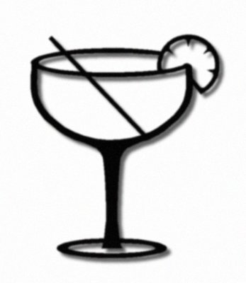 Martini Glass Silhouette At Getdrawings Com Free For Personal Use