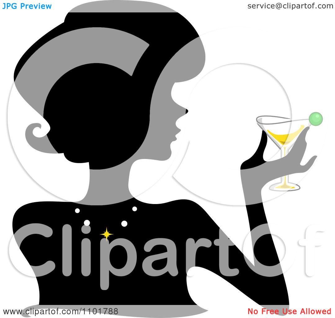 Martini Silhouette