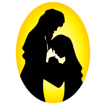340x340 Mary Mother Of Jesus Free Vector 123freevectors