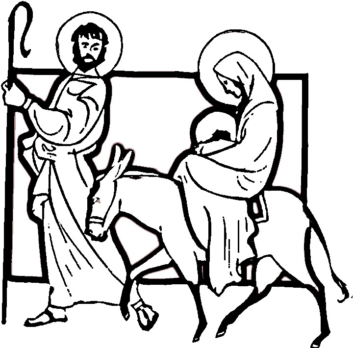 mary and joseph silhouette clip art at getdrawings com free for rh getdrawings com mary joseph and baby jesus clipart free mary joseph and baby jesus clipart free