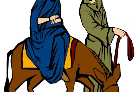 mary and joseph silhouette clip art at getdrawings com free for rh getdrawings com mary and joseph clipart mary joseph and baby jesus clipart free