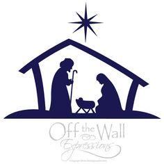 236x236 Baby Jesus Silhouette Nativity Silhouette Clip Art + Black