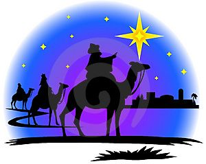 Mary Joseph Donkey Silhouette
