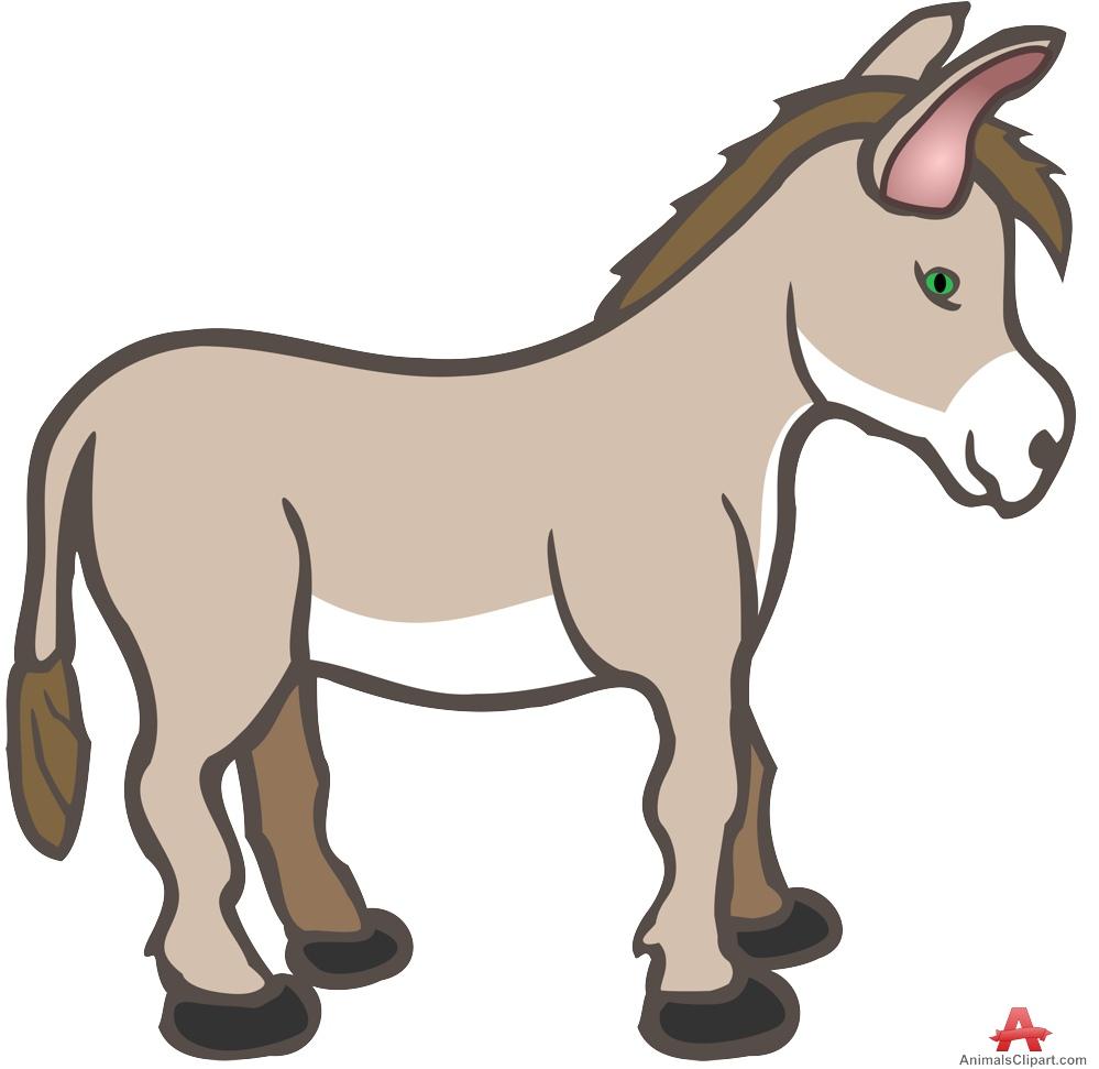 999x971 Mary And Joseph On A Donkey Clipart