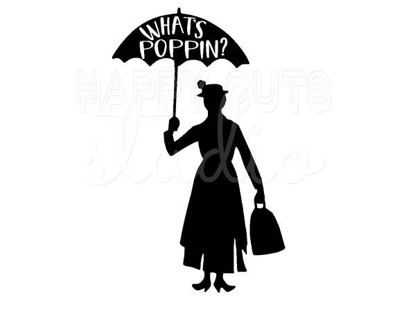 570x447 Mary Poppins What's Poppin Matching Mother Daughter