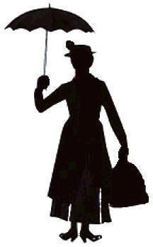 216x348 Mary Poppins Mary Poppins, Mary And Silhouette