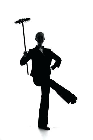 300x450 Mary Poppins Silhouette Black S Mary Poppins Silhouette Vector