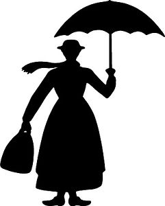 241x300 Mary Poppins Wall Sticker Vinyl Decals Art Home Decor Lettering