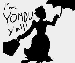 300x250 Mary Poppins Silhouette Says I'M Yondu, Y'All!