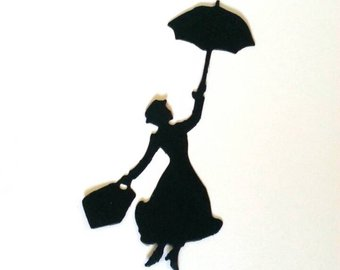 340x270 Poppins Silhouette Etsy