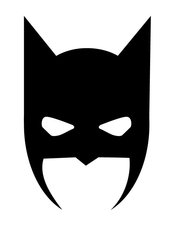 670x867 Batman Mask Clipart Black And White
