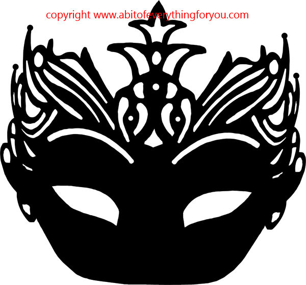 masquerade mask silhouette at getdrawings com free for personal rh getdrawings com