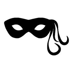 236x236 Carnival Mask Silhouette Free Icon Masks, Headresses Amp Hats