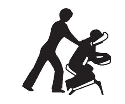 400x332 On Site Seated Massage Massage With Talya