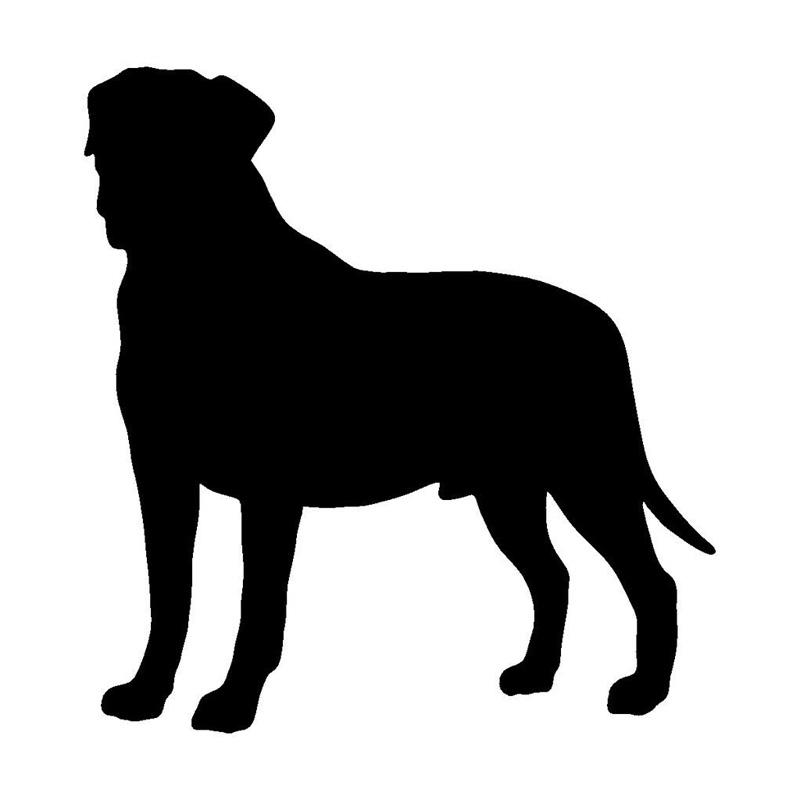 Mastiff Silhouette