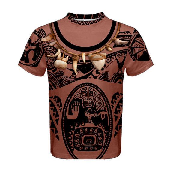 570x570 Men's Maui Moana Inspired Shirt Maui Moana, Moana And Etsy
