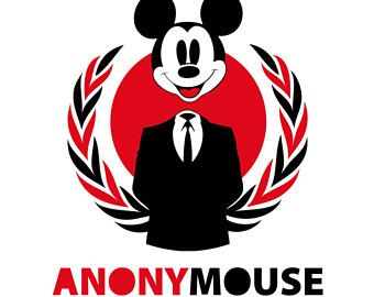 340x270 Mickey Mouse (Anonymouse) Svg, Vector, Clipart, Cut Files, Prinf
