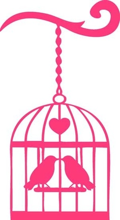 236x431 Free Birdcage Clipart