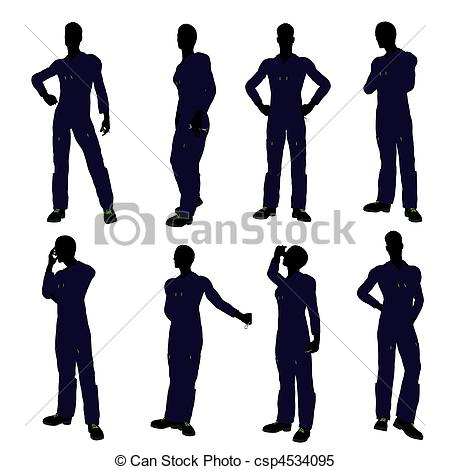450x470 Mechanic Silhouette. Mechanic Illustration Silhouette On