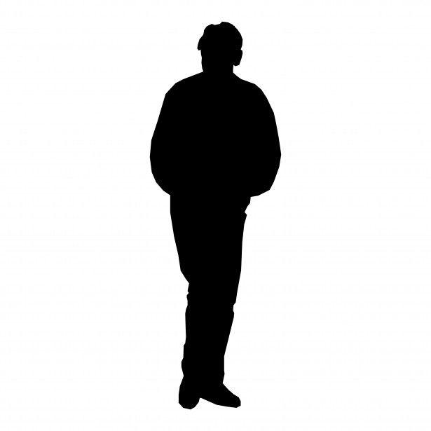 615x615 Human Clipart Human Silhouette 3623045