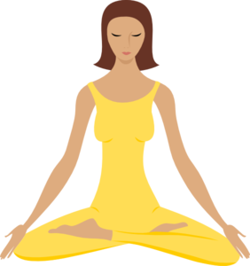 282x300 Meditation Silhouette Clipart