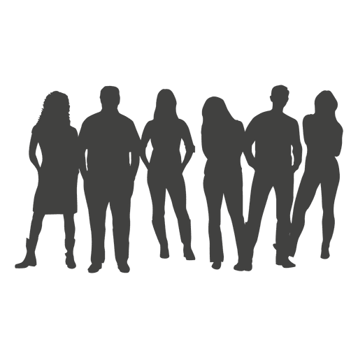 512x512 Office Collegues Meeting Silhouette