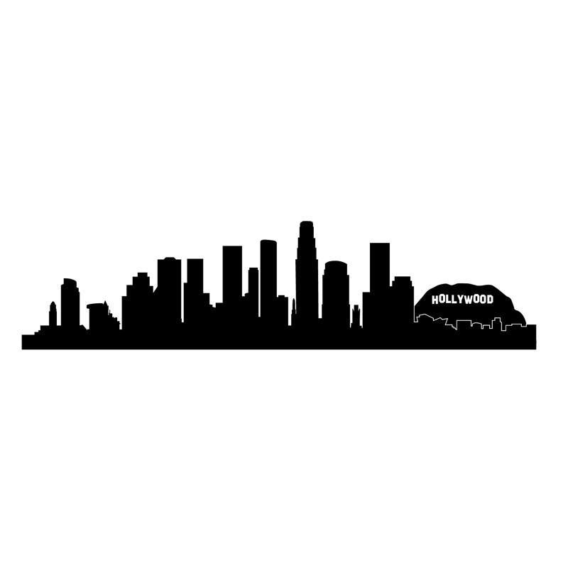 800x800 Los Angeles Skyline Silhouette Los Angeles Skyline, Skyline