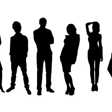 360x360 Man And Woman Silhouette Archives My Graphic Hunt