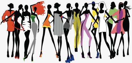 463x222 Creative Fashionable Men And Women, Fashion Paper Cut, Fashion