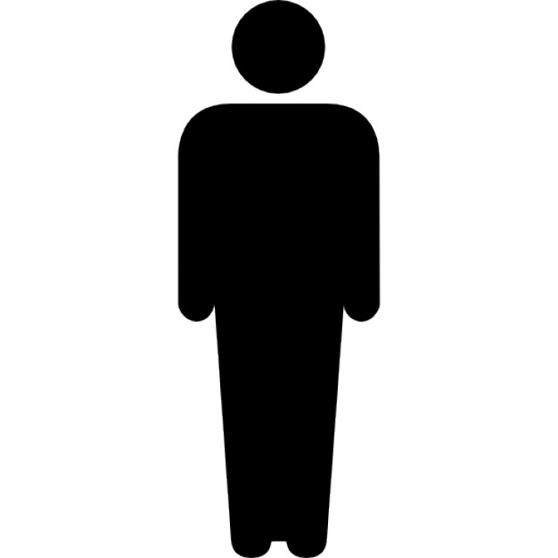 626x626 Men Silhouette Icons Free Download